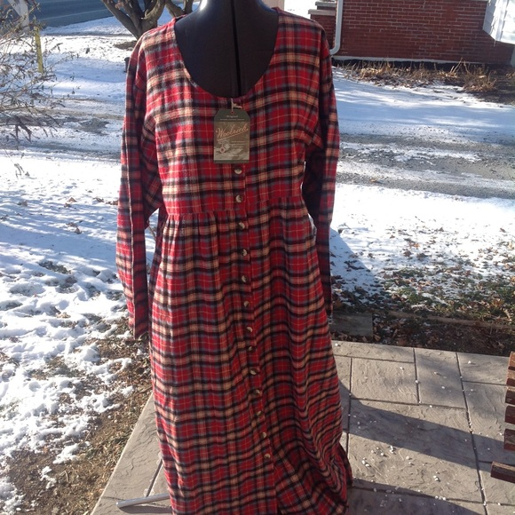 Brand new womans woolrich flannel nightgown. 6e29e513b